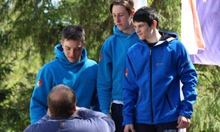 Matic Firm tretji na DP v klasičnem spustu, moštvo mladincev zmagalo