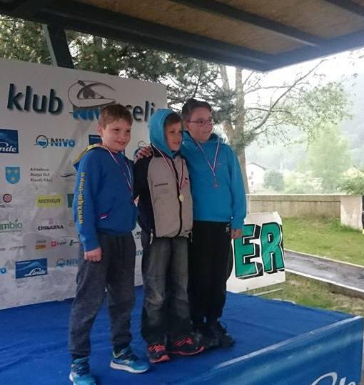 6 medalj na prvi tekmi slovenskega pokala v Celju