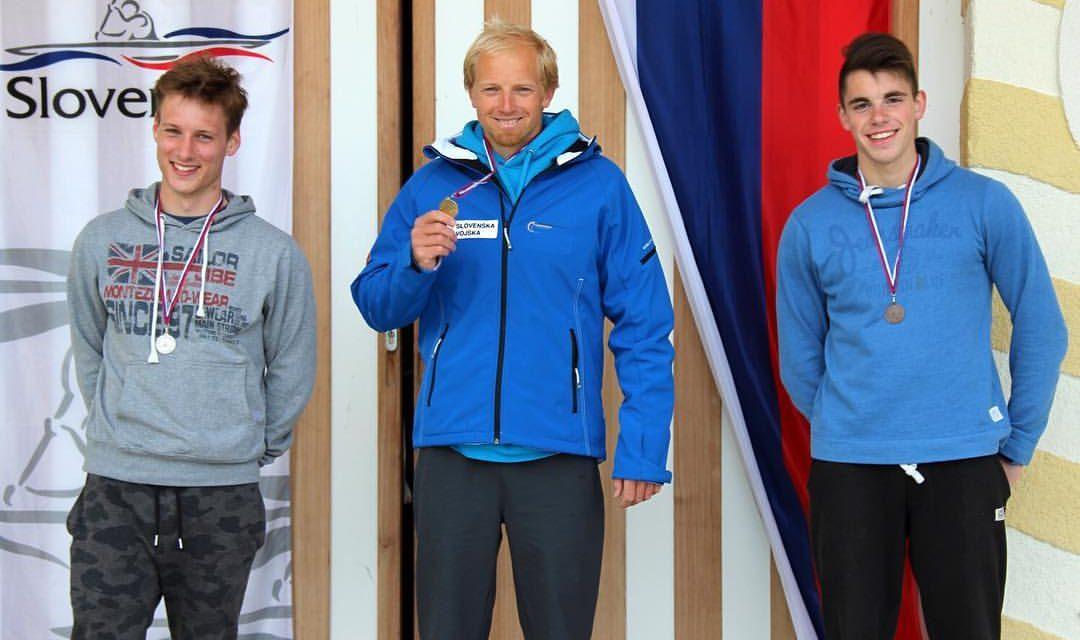 Jošt Zakrajšek državni prvak na 1000 in 500 metrov