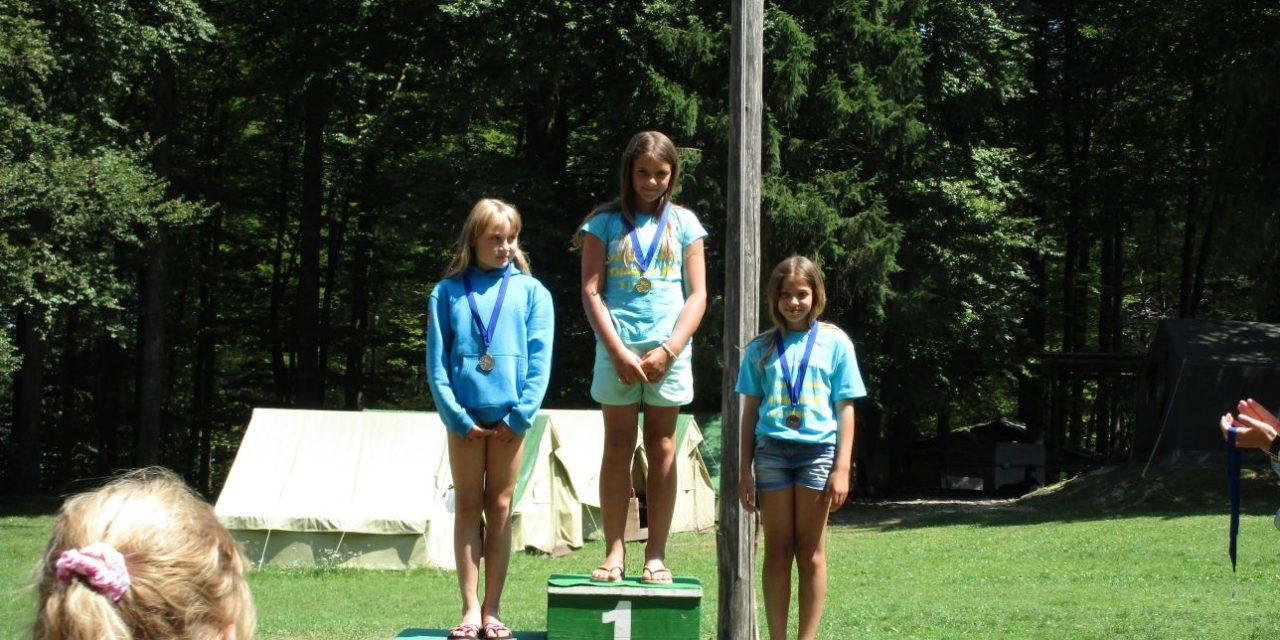 Tabor in tekmovanje v Bohinju