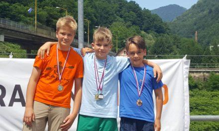 6 medalj v Hrastniku