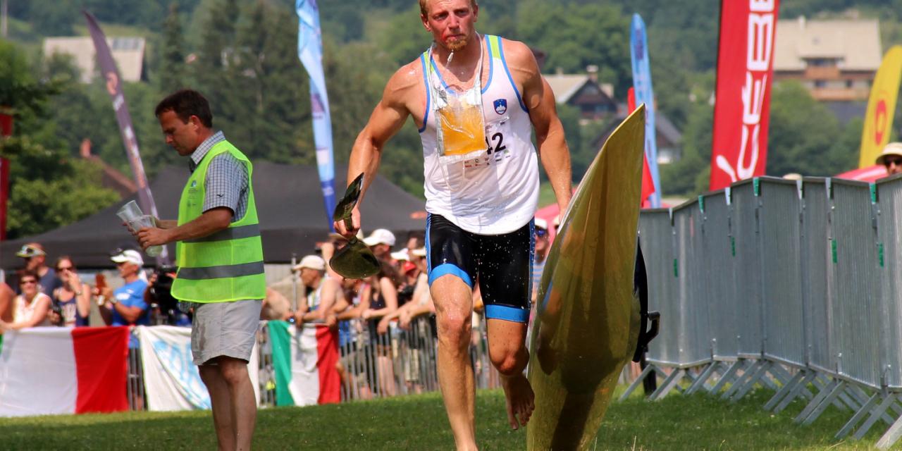 Jošt Zakrajšek 28. na svetovnem prvenstvu v kajakaškem maratonu v Brandenburgu