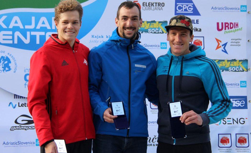Zmaga Blaža Cofa na ICF tekmi v Solkanu, Klemen Vidmar drugi v odprti kategoriji