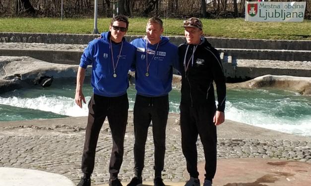 Otvoritvena tekma v slalomu, proga Tacen 24.3.2019