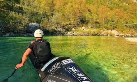 BLAŽ COF drugi v kanuju v klasičnem spustu, 20.04.2019 Trnovo ob Soči