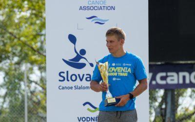 Jure Lenarčič zmagal v skupnem seštevku evropskega pokala v slalomu na divjih vodah