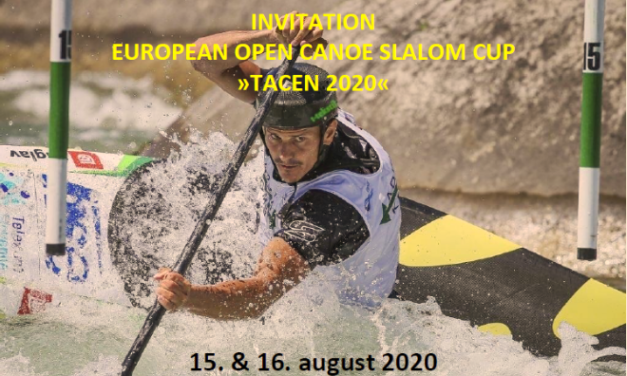 "RAZPIS ˝TACEN 2020˝ / INVITATION ""TACEN 2020"""